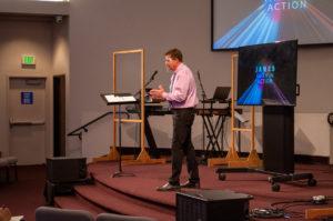 Barry Preaching